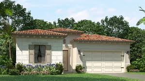 Floorplans Of Homes The Estates Of Raintree New Homes In Pembroke Pines Fl 33025
