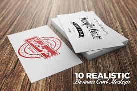 Business Cards Mockups 10 Realistic Business Card Mockups Layerform Design Co