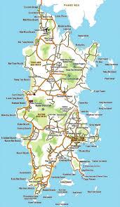 phuket hotels map for phuket hotels resorts in phuket thailand