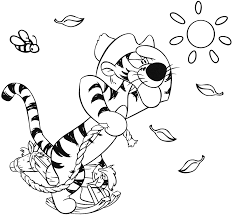 baby tigger coloring pages getcoloringpages com
