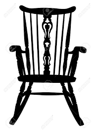 Grandma In Rocking Chair Clipart Simple Rocking Chair Silhouette Dollar Sign Free Business With