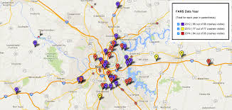 Map Tennessee Tennessee Pedestrian And Bicyclist Deaths Surpass 20 Year High