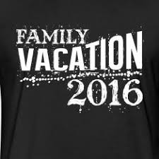 family vacation 2016 fitted cotton poly t shirt by next level