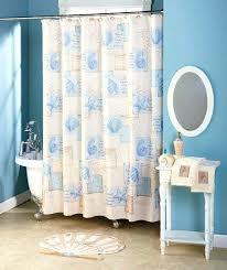 Sea Shell Curtains Seashell Curtains Bathroommodest Interesting Seashell Shower