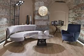 Vintage Curved Sofa by Official Vladimir Kagan Website