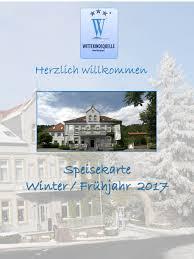 Hotels Bad Oeynhausen Speisekarte Hotel Restaurant Wittekindsquelle