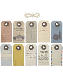 Business Card Luggage Tags Laminated Vintage Travel Tags Can Use As Business Cards In Japan With