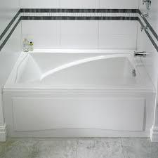 48 Bathtubs Alcove Tub Bathtub With Skirt U0026 Flange For 3 Wall Alcove