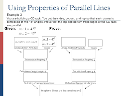 how to cut angles in front corners of hair chapter 9 parallel lines section 1 proving lines parallel c n