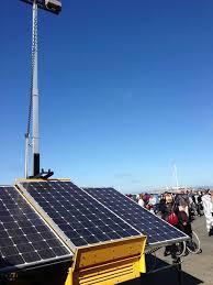 Solar Energy Lighting - solar energy led light tower