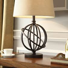 Globe Table Lamp Table Captivating Table Lamp Inspire Q Cooper Antique Bronze Metal