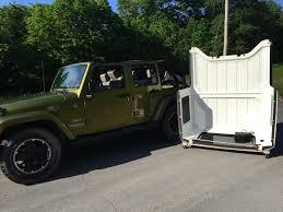 jeep wrangler 2 door hardtop jk jku hardtop storage cart