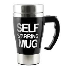 aliexpress com buy self stirring mug coffee cup 350 ml newest