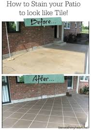 How To Paint Outdoor Concrete Patio Best 25 Concrete Refinishing Ideas On Pinterest Concrete Cover