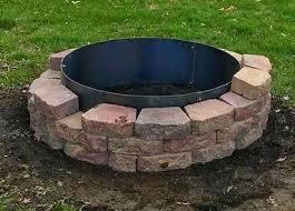 Firepit On Sale Mild Steel Pit Ring Pit Ring For Sale