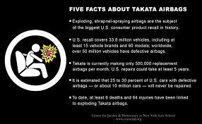 spotlight five facts about takata airbags centerjd org
