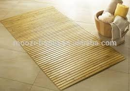 Thin Bath Mat Wooden Bathroom Mat Anti Slip Bath Mat Bamboo Thin Bath Mats Buy
