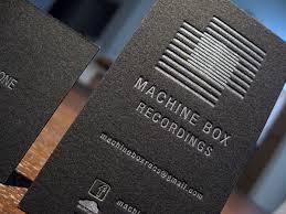 50 fresh letterpress business cards designmodo