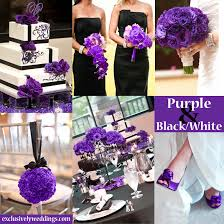 color combination with black purple wedding color combination options exclusively weddings