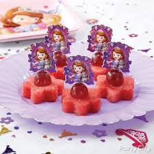 sofia the first centerpiece idea party city