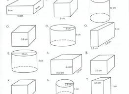 21 surface area and volume worksheet volume surface area