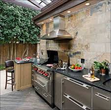 Weatherproof Outdoor Kitchen Cabinets - kitchen simple outdoor kitchen outdoor kitchen refrigerator