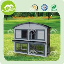Rabbit Hutch Plastic 2 Story Rabbit Hutches 2 Story Rabbit Hutches With Tray White