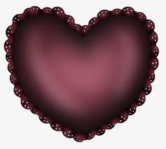 siege en forme de coussin de siège en forme de coeur noir oreiller image png pour