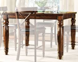 kingston dining room table intercon mango wood counter height dining table kingston inkg5454gtab