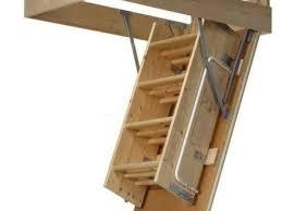 wooden fire rated attic ladder garage organization experts attic
