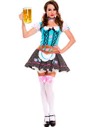 Bavarian Halloween Costumes Oktoberfest Dirndl Dress Oktoberfest Costume Dirndl Dress
