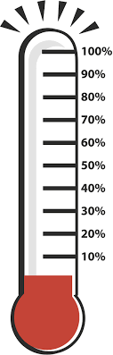 Thermometer Clip Art Fundraiser Free Clipart Thermometer For Fundraising Template