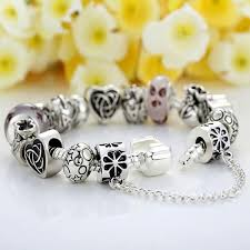european silver charm bracelet images European charm bracelet with heart for women 3 designs jusgift jpg