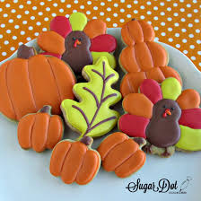 268 best autumn fall cookies images on decorated