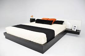 Small Bedroom California King Bed Modern Black Japanese Style California King Bed That Can Be