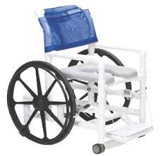 Shower Chairs With Wheels Rolling Shower Commode Chairs Products Bathroom Safety Aids