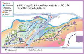 Route 66 Map California by Mill Valley Fall Arts Festival Visitor Information Maps U0026 Directions