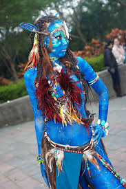 Pam Anderson Halloween Costume Avatar Na U0027vi Cosplay Google Cosplay