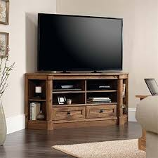 corner media cabinet 60 inch tv corner media tv stand console entertainment center vintage oak