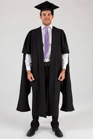 master s cap and gown masters graduation gown and cap set
