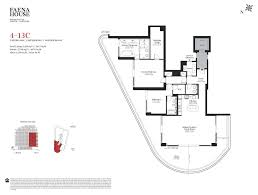 Oceana Key Biscayne Floor Plans by Faena House Condos Miami Beach