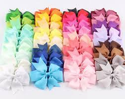 ribbon for hair bows hair bow etsy