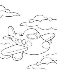 jet airplane coloring airplanes