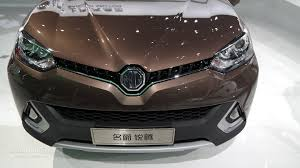 2015 nissan x trail debuts revived mg brand wants to build two suvs will rival nissan u0027s x