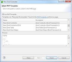 zf2 set layout variable from controller zend studio online help creating a zend controller file zend