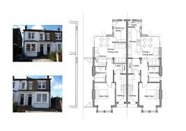 single storey semi detached house floor plan house plans with separate kitchen with wonderful single storey semi