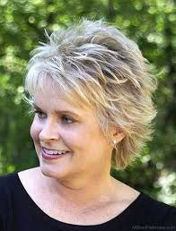 spiky haircuts for older women 50 good looking shag hairstyles