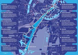 map of copenhagen copenhagen waterbus map