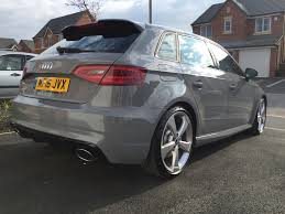 nardo grey rs3 v spokes tuning and modifications official audi rs3 owners