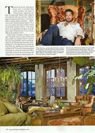 architectural digest may 2010 gerard butler u0027s new york loft